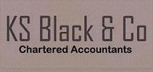 KS BLACK logo